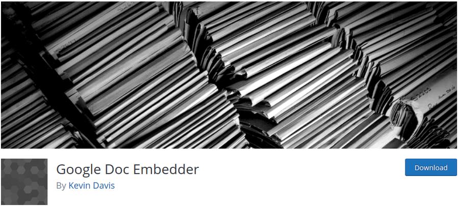 plugin pdf google doc embedder