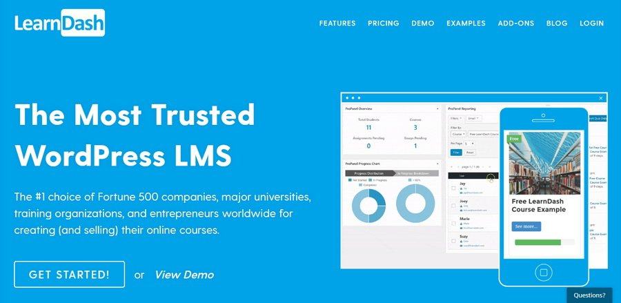 Plugin LMS Learn Dash