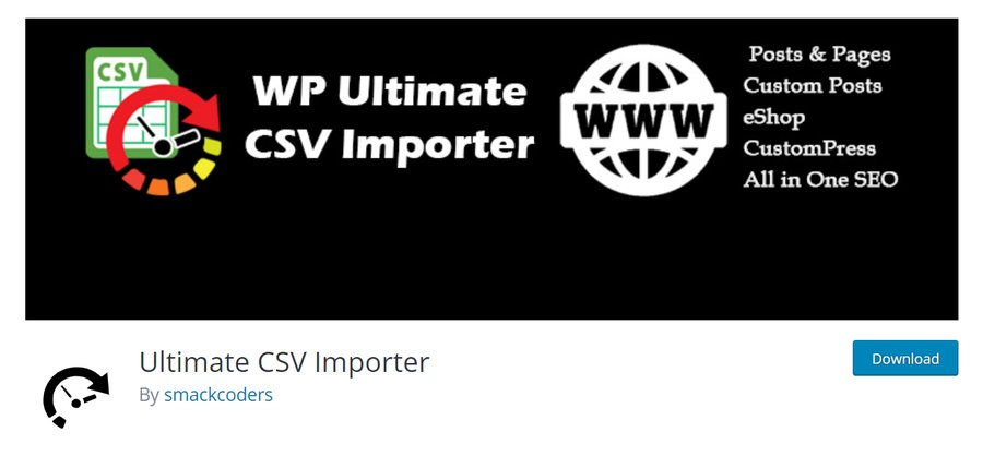 Plugin Ultimate CSV Importer