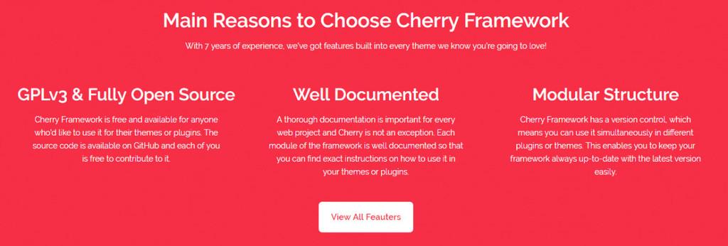 Framework Cherry