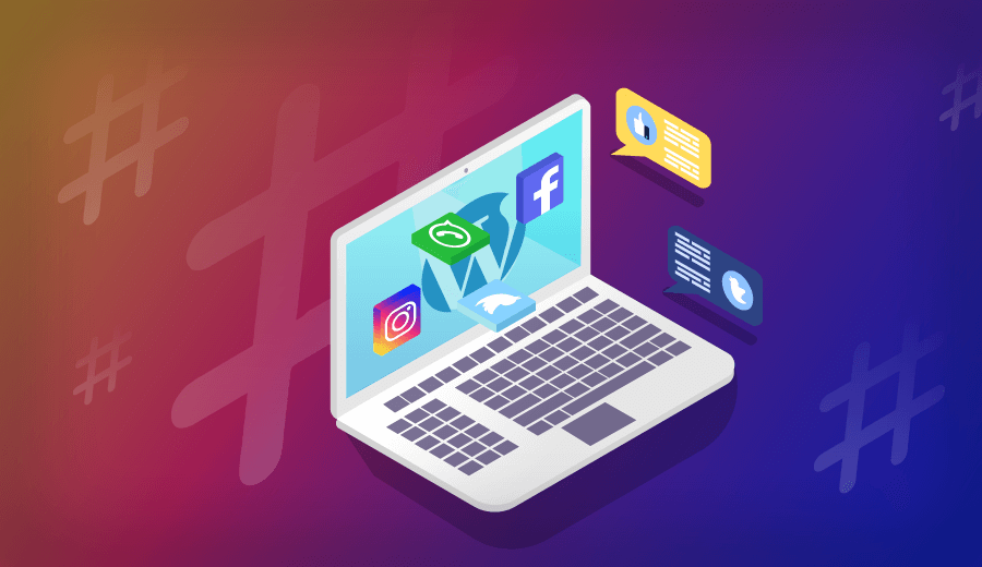 Como Adicionar Ícones de Redes Sociais no WordPress