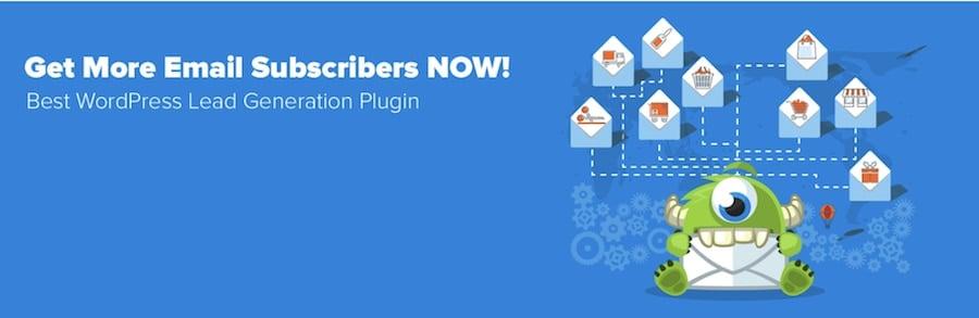 plugin popup wordpresss optimonster