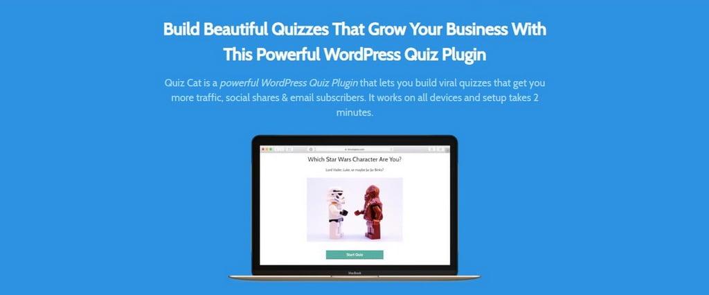Quiz Cat Plugin Quiz WordPress