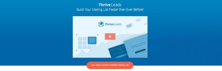 Plugin Thrive Leads