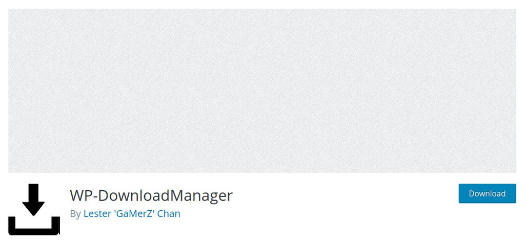 Plugin WP-Download Manager