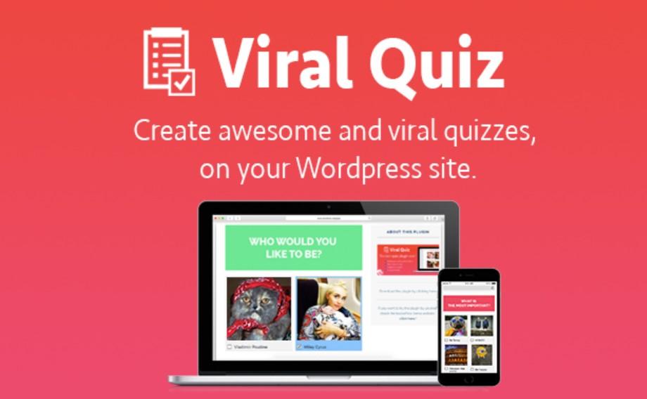 plugin para site de quiz Viral Quiz