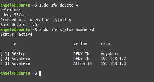 Ubuntu Firewall UFW