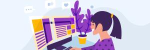 menina com ideias para blog para criar conteúdos incríveis
