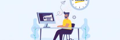 aprenda como usar o comando time linux