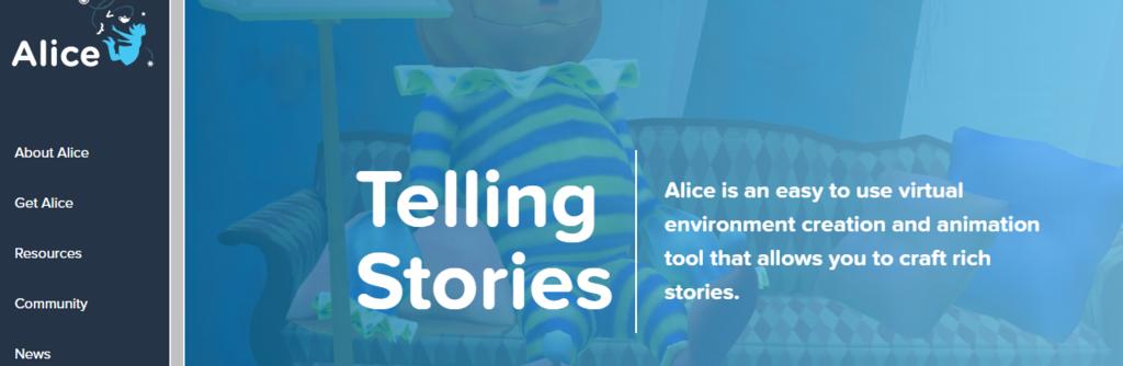 Alice - aplicativo para ensinar linguagem de programação para crianças