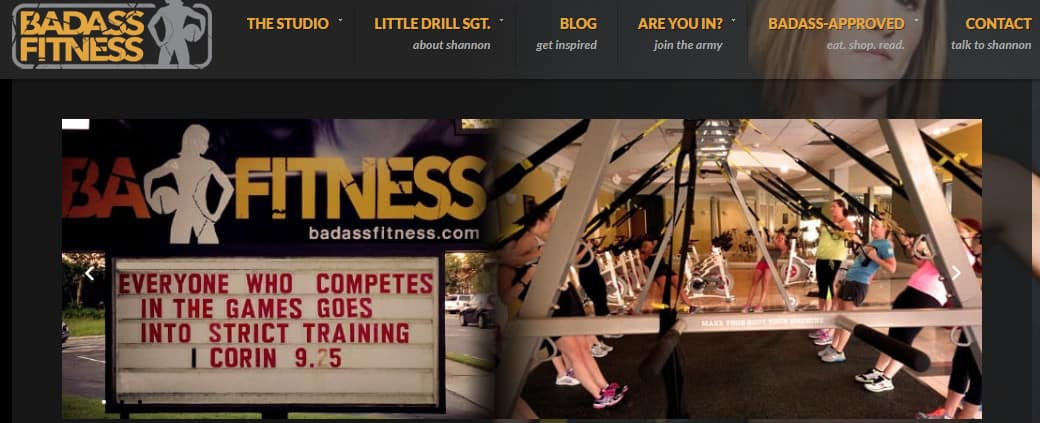 exemplo de blog de fitness, saúde e boa forma