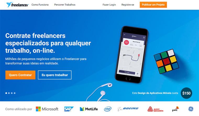site para freelas freelancer br