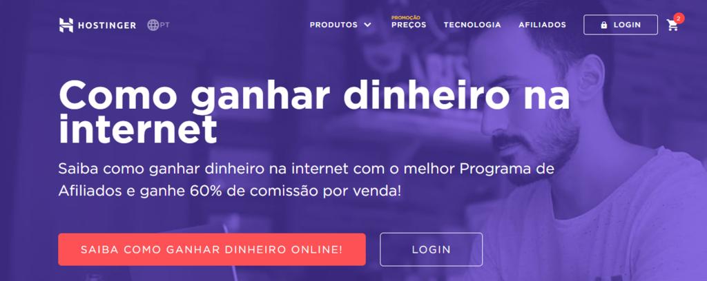 Programa de afiliados hostinger
