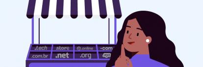 conteúdo sobre como comprar um domínio e como registrar um domínio