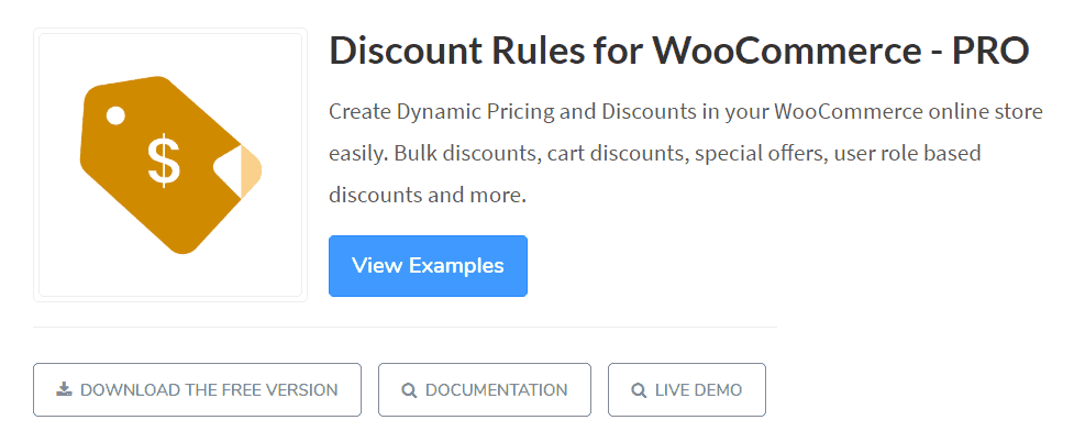 plugin woocommerce discount rules
