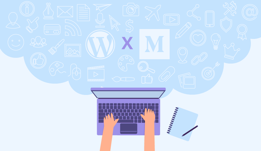 comparativo entre as plataformas de blog wordpress e medium