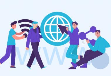 aprenda o que é a rede mundial de computadores e a história da internet