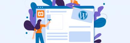 artigo ensina como usar o xampp para configurar um site local no wordpress