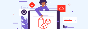 ilustração para conteúdo sobre como instalar laravel no sistema ubuntu