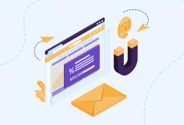 ilustração de capa para conteúdo sobre email marketing