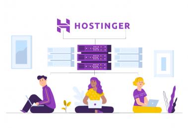 ilustração de capa para conteúdo sobre como apontar domínio para Hostinger