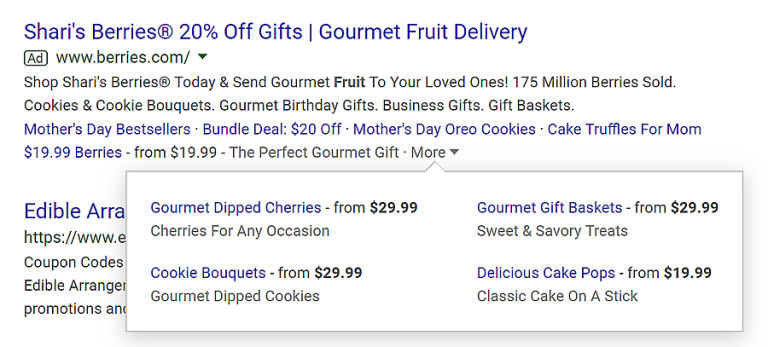 extensões de ofertas para o google adwords