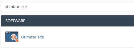 ferramenta de otimização de site no cpanel