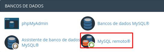 localizar função mysql remoto no cpanel