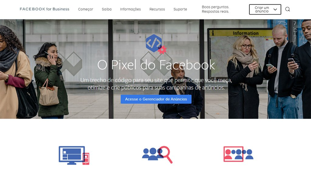 plataforma de marketing pixel for facebook