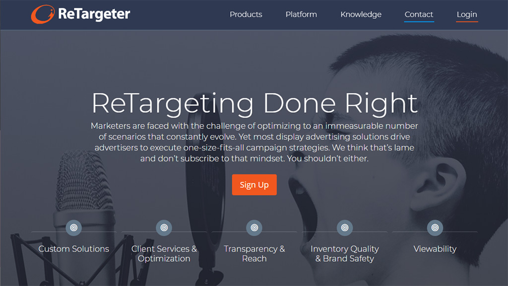 plataforma de marketing via retargeting retargeter