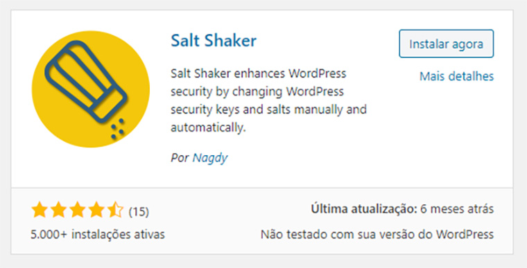 plugin para wordpress salt shaker