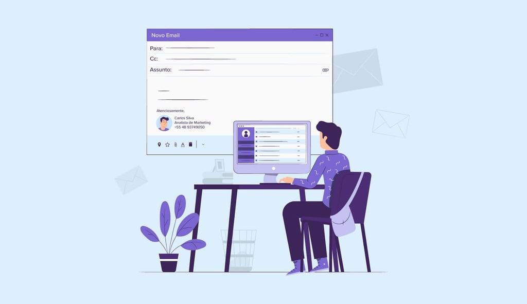 Como Colocar Assinatura no Outlook, Hotmail e Live Mail