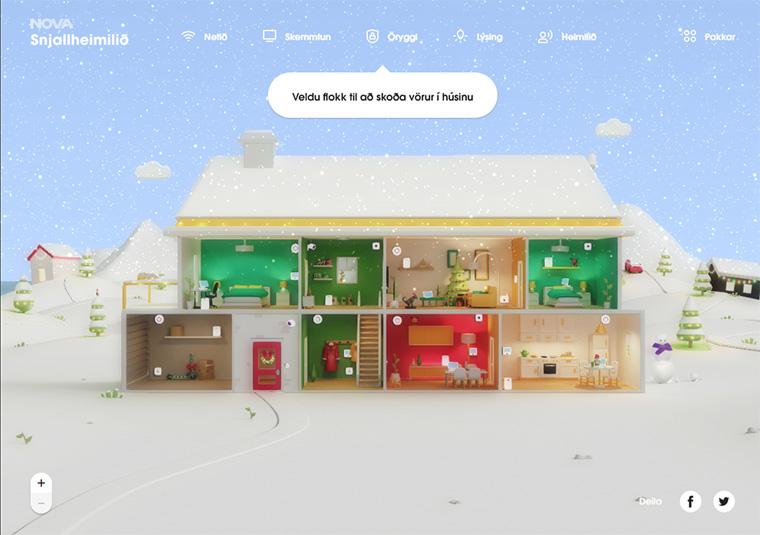 loja virtual nova smart home