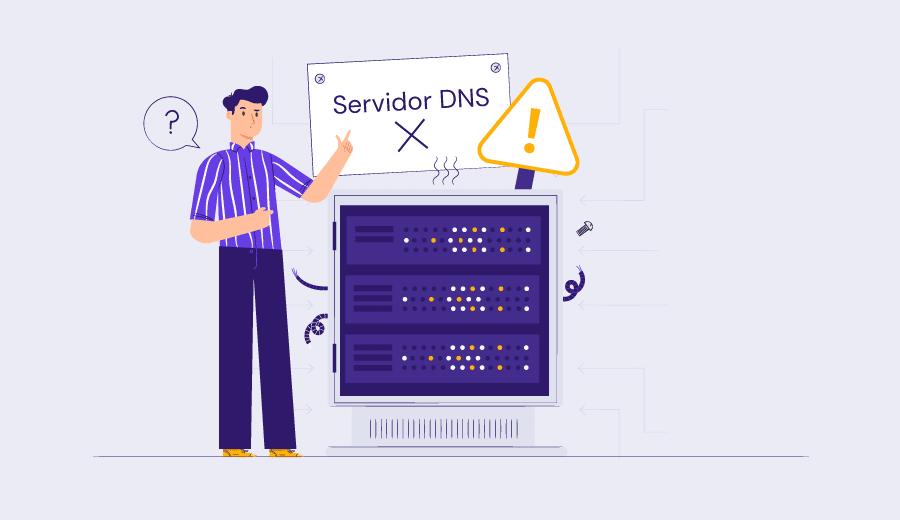 """Como Corrigir o Erro """"Servidor DNS Não Está Respondendo"""" e Porque ele Acontece"""